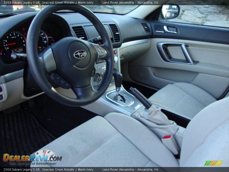 Warm Ivory Interior 2009 Subaru Legacy 3 0r Photo 12