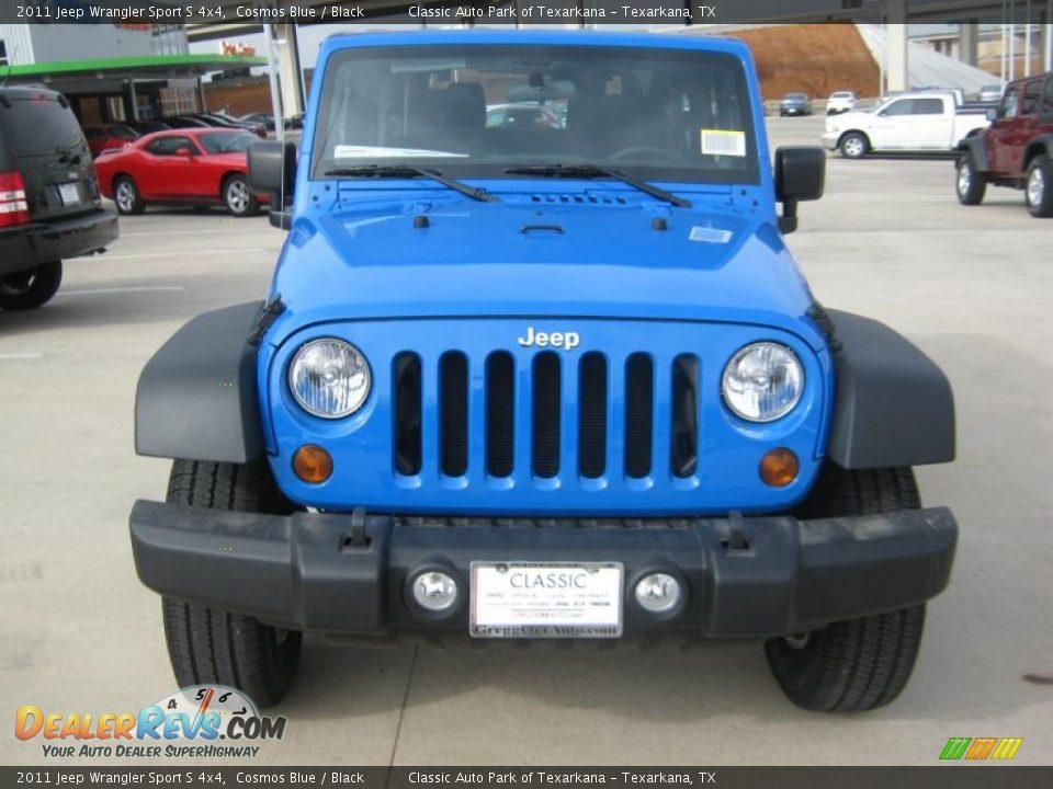 2011 jeep wrangler sport s 4x4 cosmos blue black photo 8 dealerrevs com