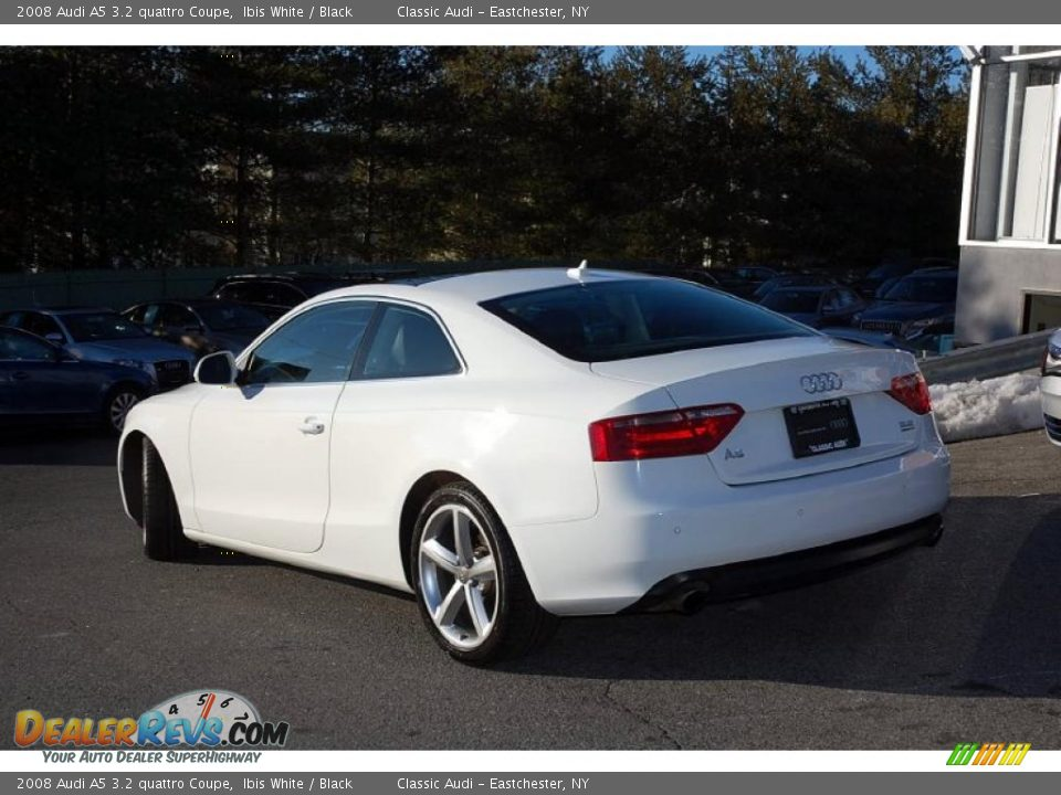 2008 audi a5 3 2 quattro coupe ibis white black photo 5. Black Bedroom Furniture Sets. Home Design Ideas