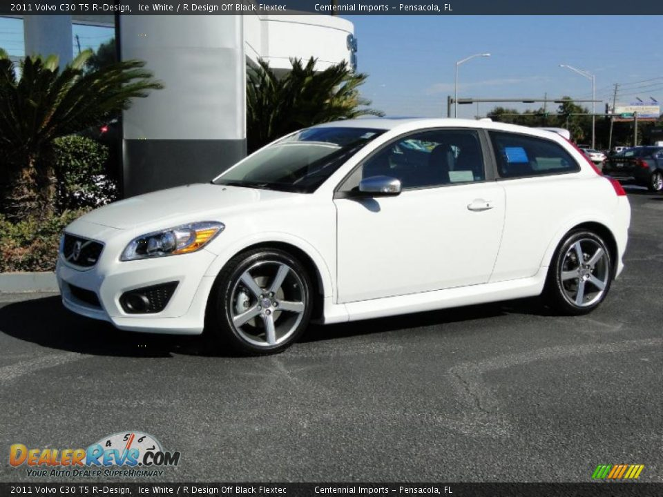 ice white 2011 volvo c30 t5 r design photo 3. Black Bedroom Furniture Sets. Home Design Ideas