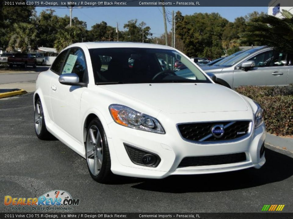 2011 volvo c30 t5 r design ice white r design off black flextec photo 6. Black Bedroom Furniture Sets. Home Design Ideas