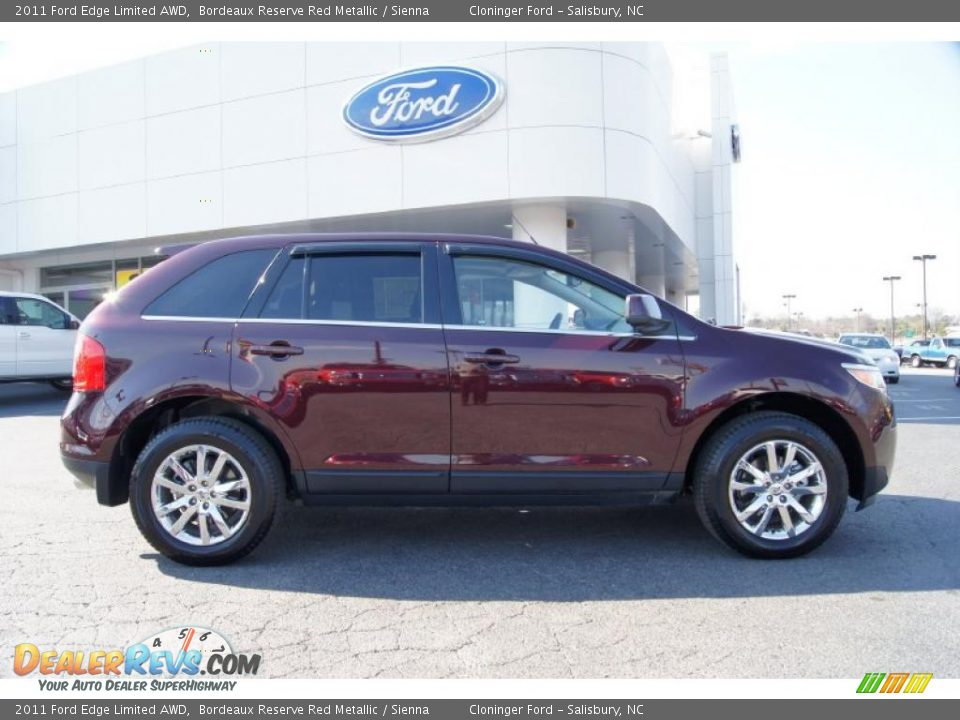2011 ford edge limited awd bordeaux reserve red metallic sienna photo 2. Black Bedroom Furniture Sets. Home Design Ideas