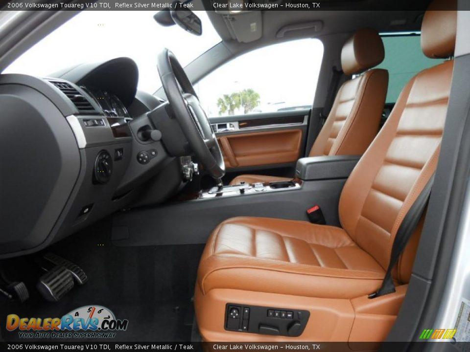 teak interior 2006 volkswagen touareg v10 tdi photo 13