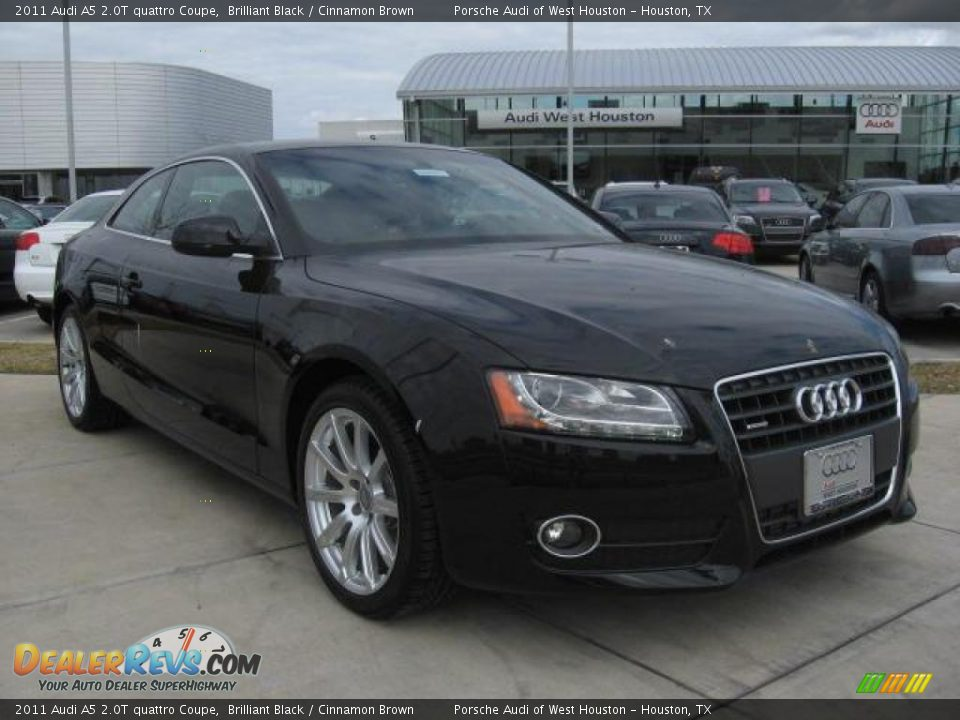 2011 Audi A5 2 0t Quattro Coupe Brilliant Black Cinnamon