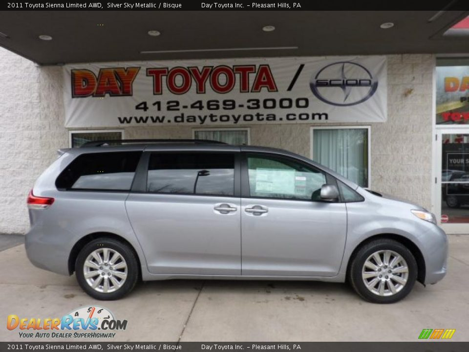 2011 Toyota Sienna Limited AWD Silver Sky Metallic / Bisque Photo #1 ...