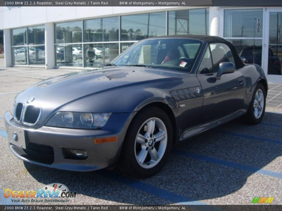 2000 bmw z3 2 3 roadster steel grey metallic tanin red. Black Bedroom Furniture Sets. Home Design Ideas