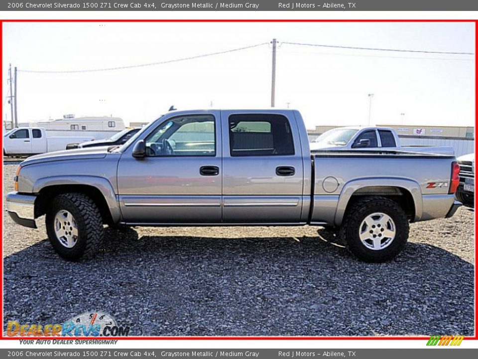 2006 chevrolet silverado 1500 z71 crew cab 4x4 graystone metallic medium gray photo 2. Black Bedroom Furniture Sets. Home Design Ideas