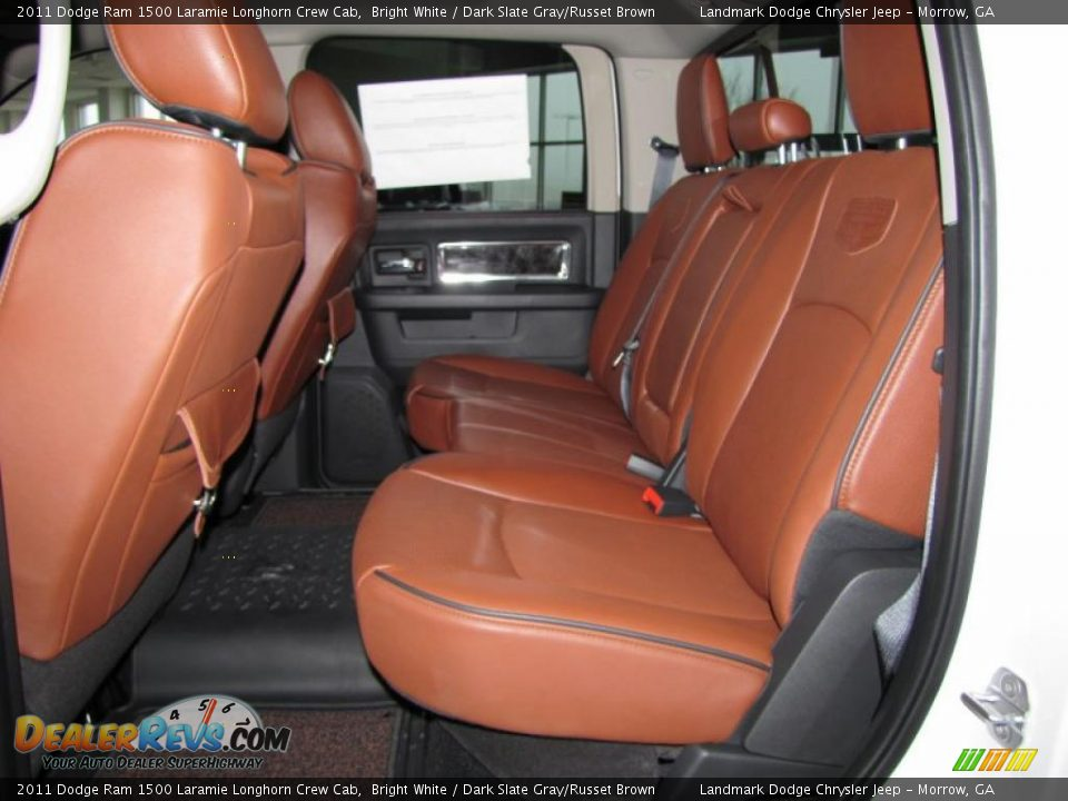 dodge ram 1500 laramie longhorn interior dark slate grayrusset brown interior 2011 dodge ram 1500
