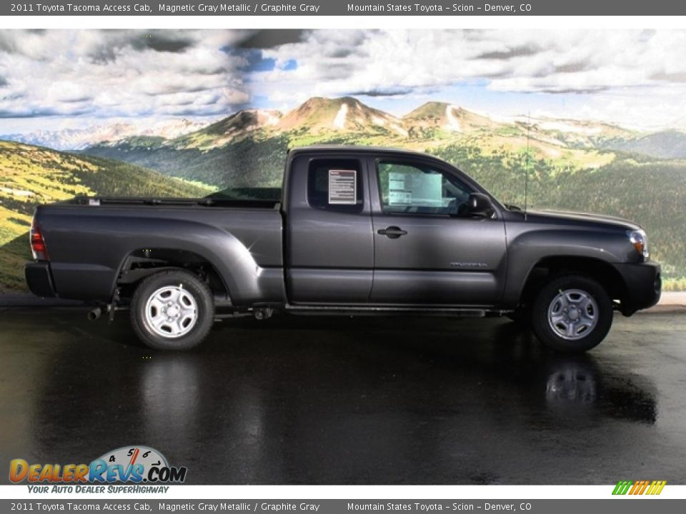 2011 toyota tacoma access cab magnetic gray metallic graphite gray photo 2. Black Bedroom Furniture Sets. Home Design Ideas