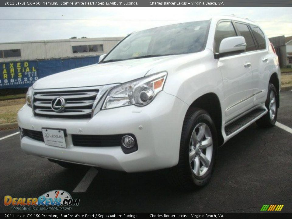 2011 lexus gx 460 premium starfire white pearl sepia. Black Bedroom Furniture Sets. Home Design Ideas