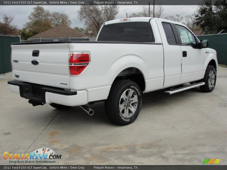 oxford white 2011 ford f150 xlt supercab photo 3. Black Bedroom Furniture Sets. Home Design Ideas