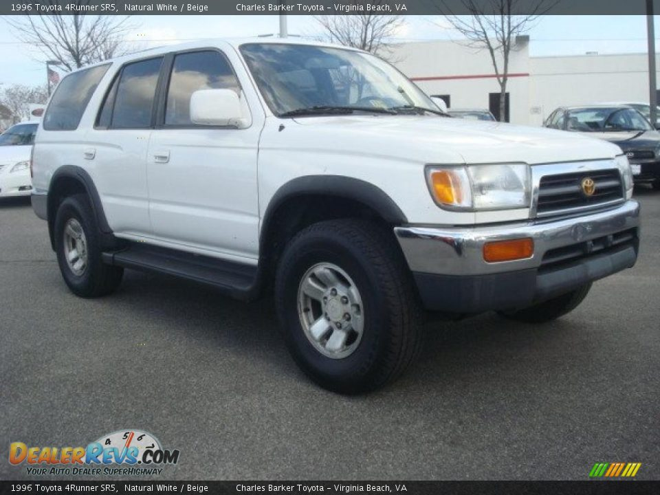 1996 toyota 4runner sr5 natural white beige photo 1. Black Bedroom Furniture Sets. Home Design Ideas