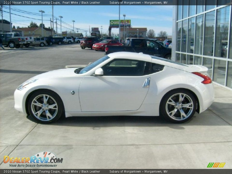 pearl white 2010 nissan 370z sport touring coupe photo 2. Black Bedroom Furniture Sets. Home Design Ideas