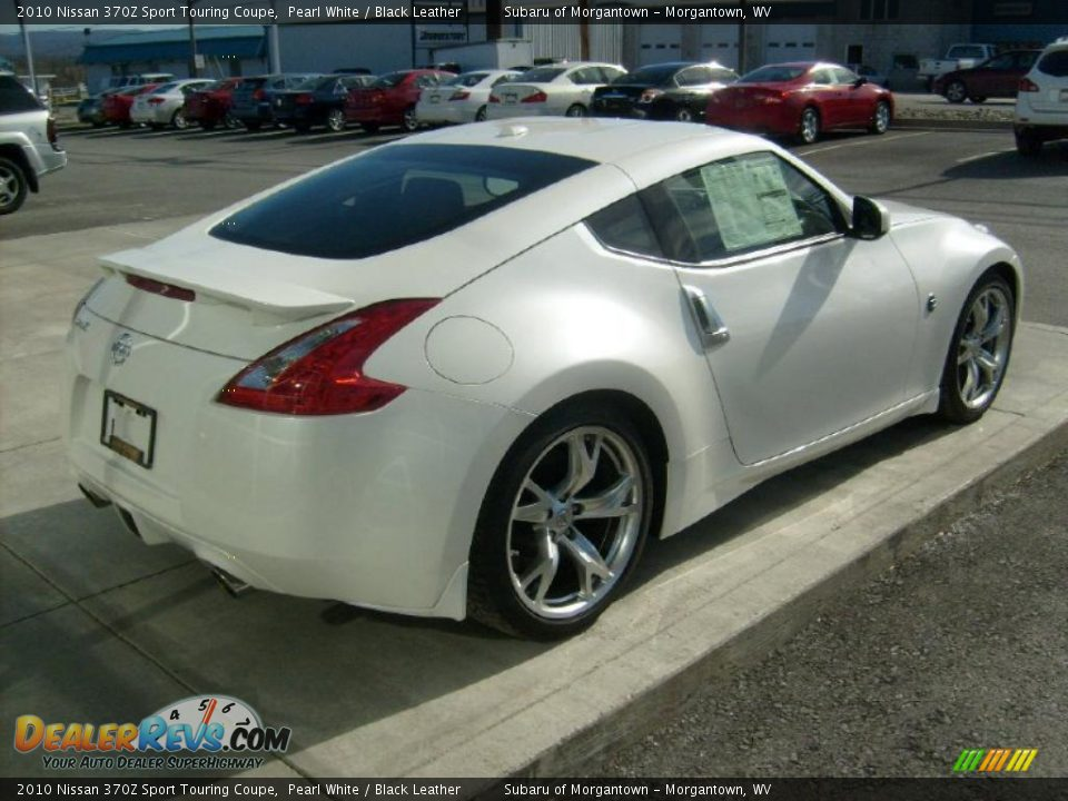 pearl white 2010 nissan 370z sport touring coupe photo 8. Black Bedroom Furniture Sets. Home Design Ideas