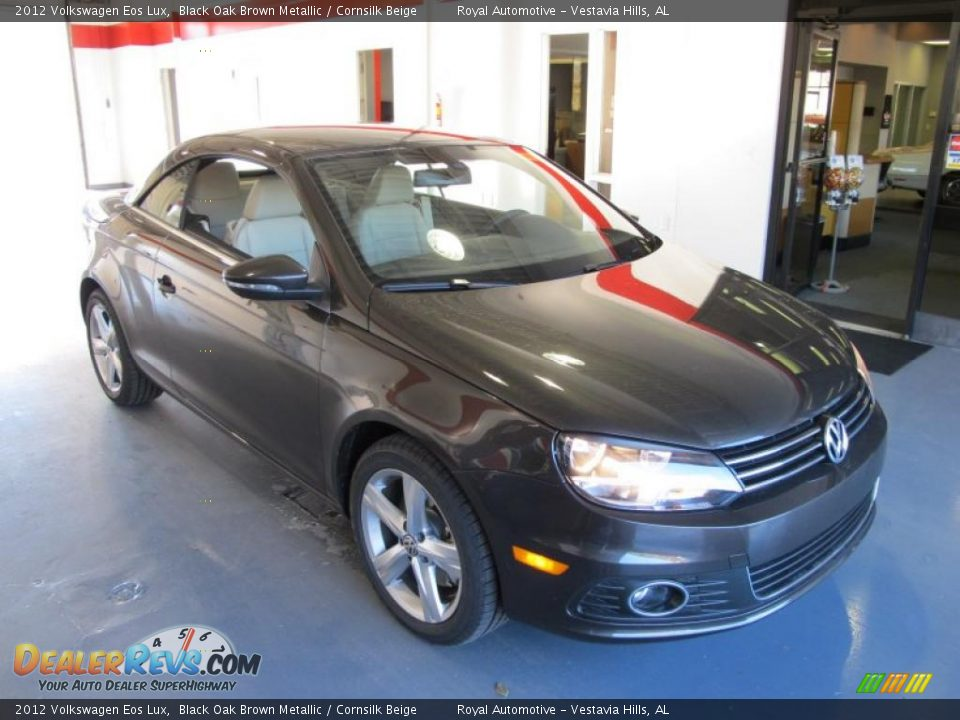 2012 volkswagen eos lux black oak brown metallic. Black Bedroom Furniture Sets. Home Design Ideas