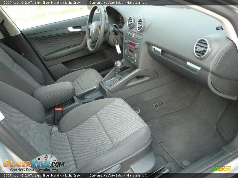 Light Grey Interior 2007 Audi A3 2 0t Photo 9