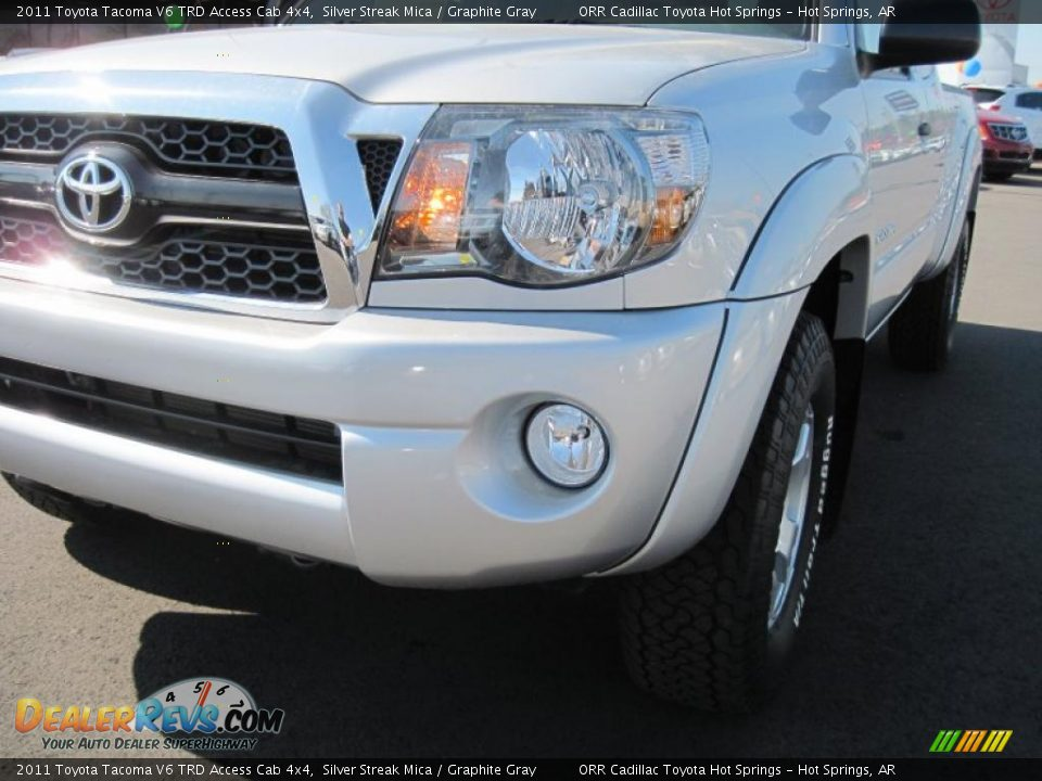 2011 toyota tacoma v6 trd access cab 4x4 silver streak mica graphite gray photo 9. Black Bedroom Furniture Sets. Home Design Ideas