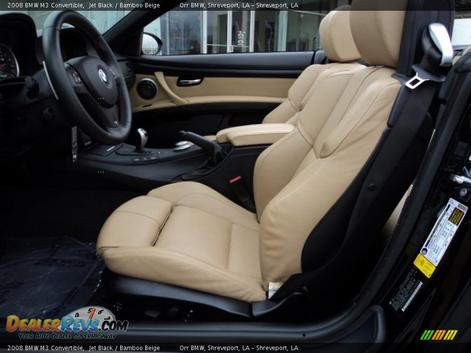 ... Beige Interior - 2008 BMW M3 Convertible Photo #11 | DealerRevs.com