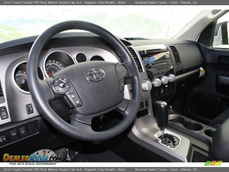 Black Interior - 2011 Toyota Tundra TRD Rock Warrior Double Cab 4x4