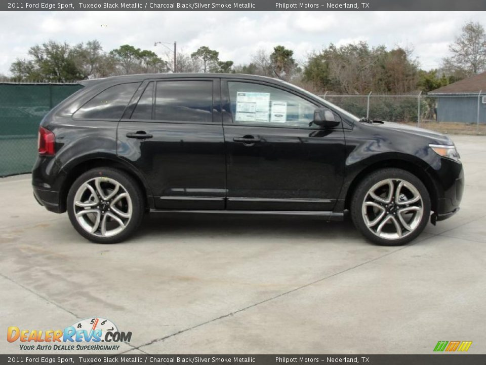 tuxedo black metallic 2011 ford edge sport photo 2. Black Bedroom Furniture Sets. Home Design Ideas