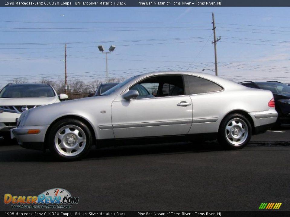 1998 mercedes benz clk 320 coupe brilliant silver metallic for 1998 mercedes benz clk 320