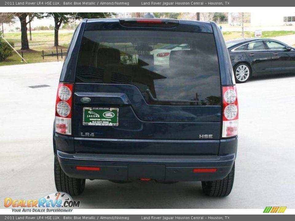 2011 Land Rover Lr4 Hse Lux Baltic Blue Metallic Almond