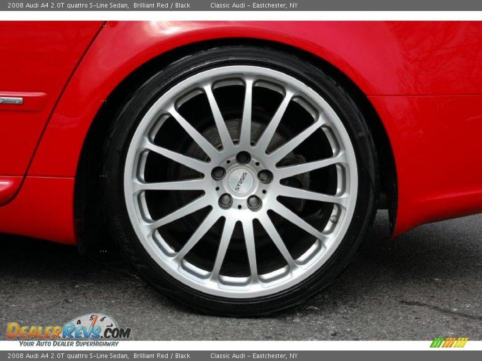 Custom Wheels Of 2008 Audi A4 2 0t Quattro S Line Sedan