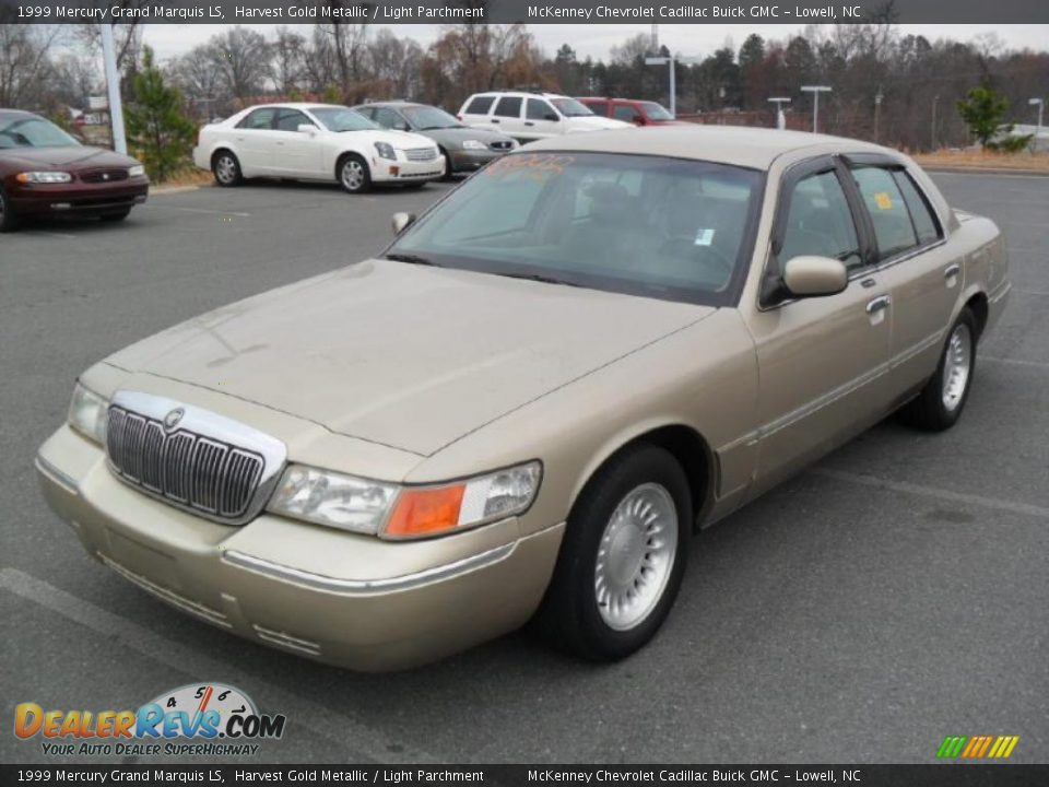 front 3 4 view of 1999 mercury grand marquis ls photo 1. Black Bedroom Furniture Sets. Home Design Ideas