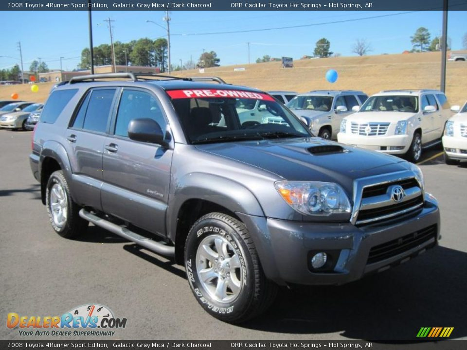 2008 Toyota 4runner Sport Edition Galactic Gray Mica