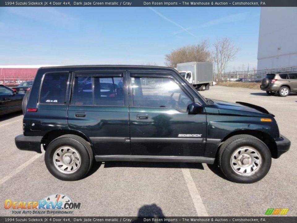 11d15ec15877 Dark Jade Green metallic 1994 Suzuki Sidekick JX 4 Door 4x4 Photo  7 ...