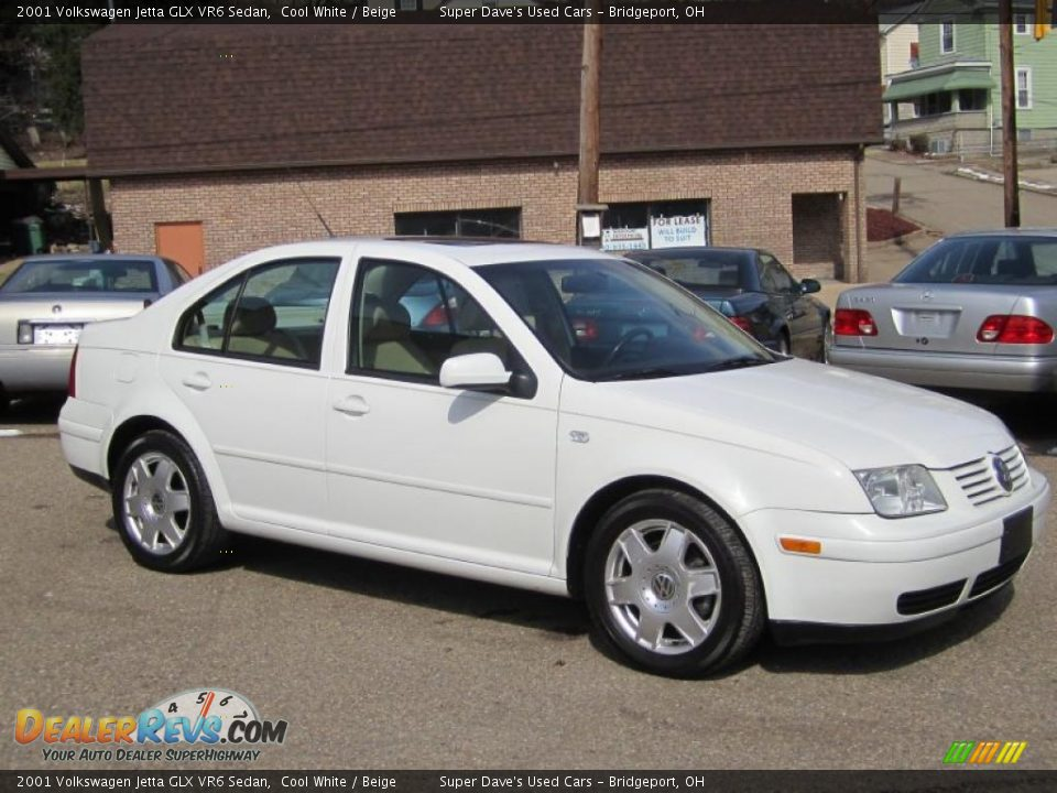 cool white 2001 volkswagen jetta glx vr6 sedan photo 2. Black Bedroom Furniture Sets. Home Design Ideas