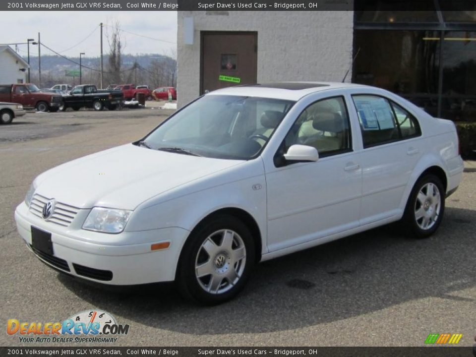 2001 volkswagen jetta glx vr6 sedan cool white beige. Black Bedroom Furniture Sets. Home Design Ideas