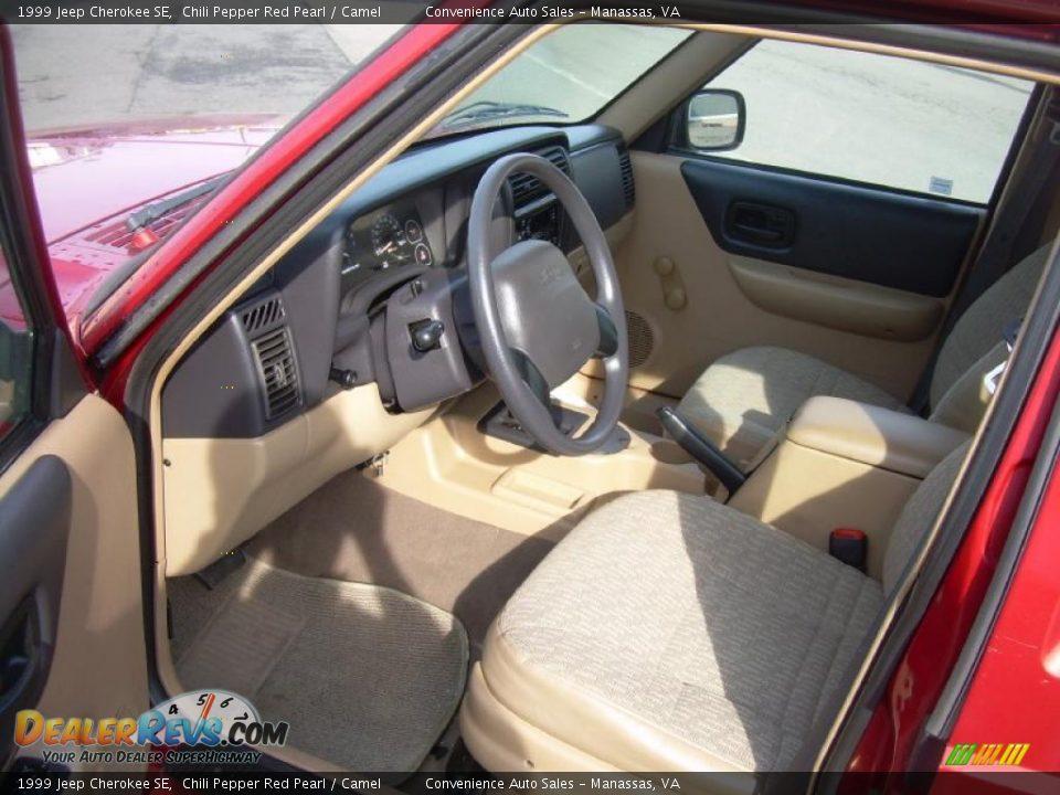 Camel Interior 1999 Jeep Cherokee Se Photo 11