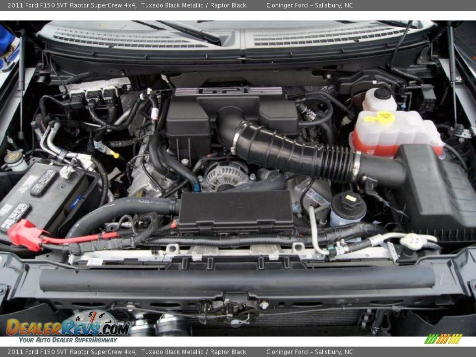 2011 ford f150 svt raptor supercrew 4x4 6 2 liter sohc 16 for Motor ford f150 v8