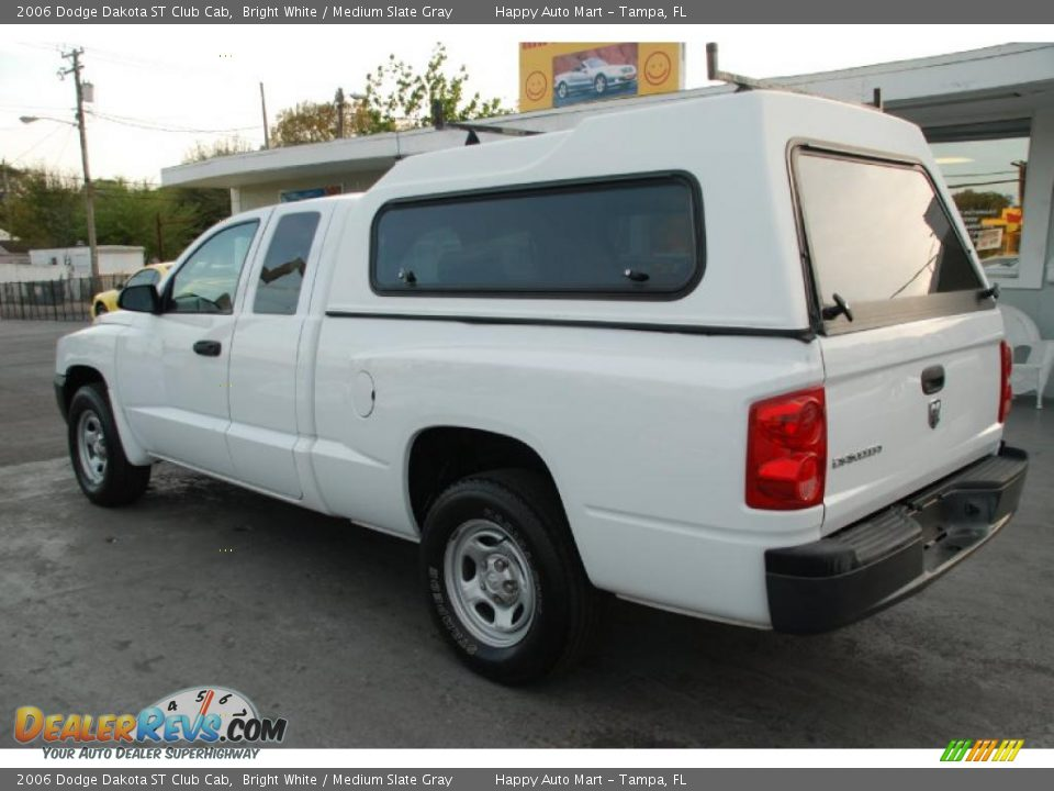 2006 dodge dakota st club cab bright white medium slate gray photo 6. Black Bedroom Furniture Sets. Home Design Ideas