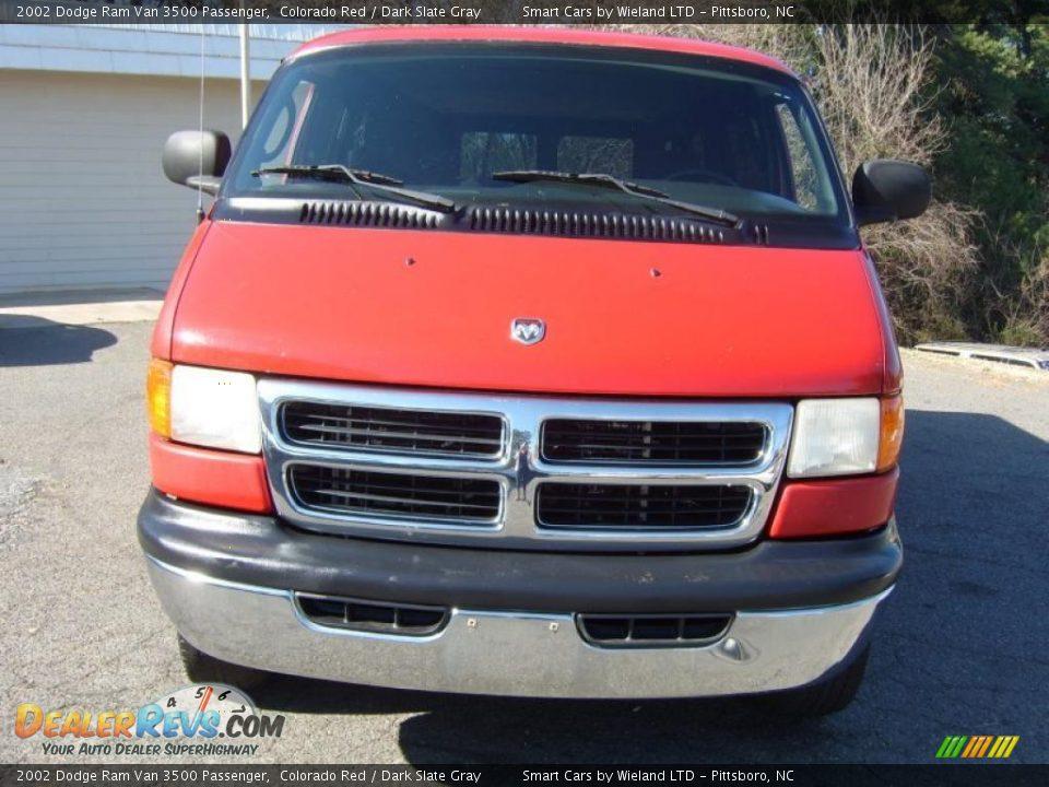 2002 dodge ram van 3500 passenger colorado red dark slate gray photo 8. Black Bedroom Furniture Sets. Home Design Ideas