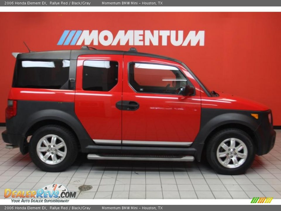 2006 honda element ex rallye red black gray photo 4. Black Bedroom Furniture Sets. Home Design Ideas