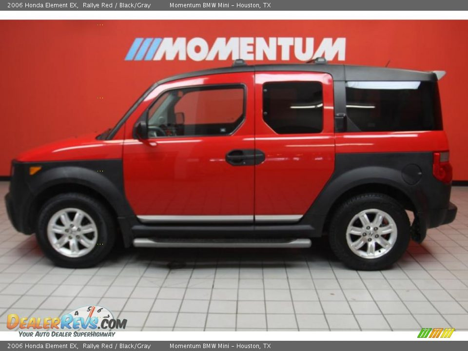 2006 honda element ex rallye red black gray photo 17. Black Bedroom Furniture Sets. Home Design Ideas