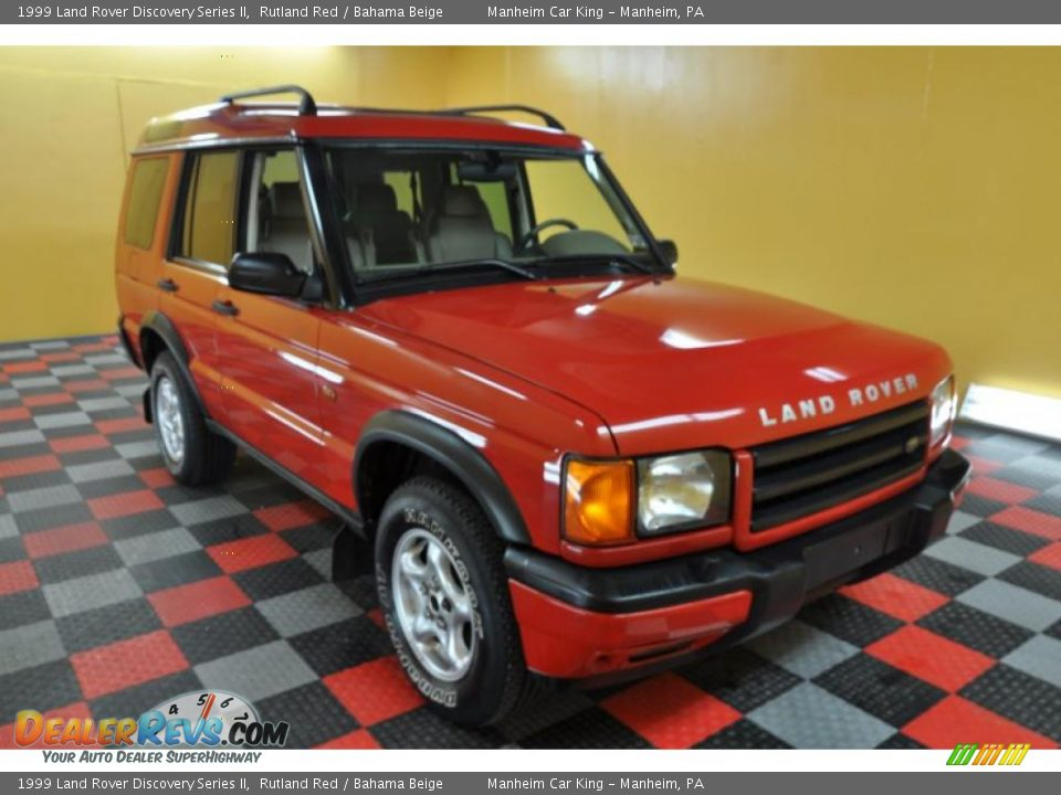 Land Rover Discovery 2017 >> 1999 Land Rover Discovery Series II Rutland Red / Bahama ...