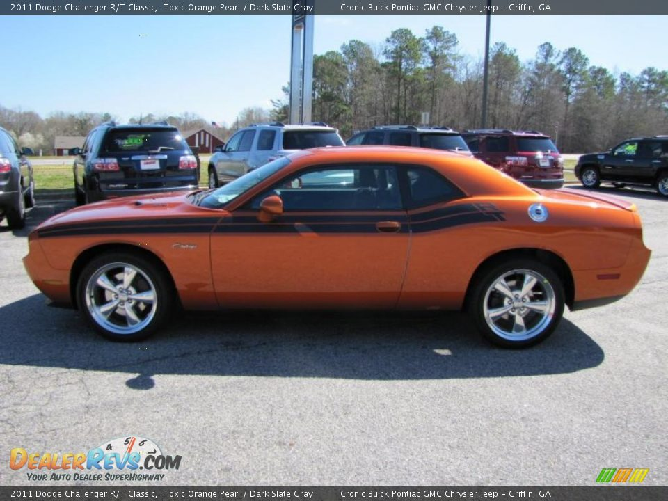 Toxic Orange Pearl 2011 Dodge Challenger R T Classic Photo