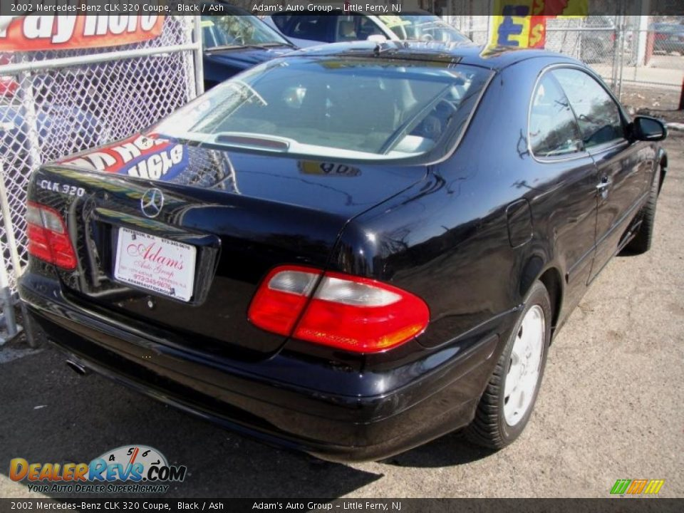 2002 Mercedes Benz Clk 320 Coupe Black Ash Photo 3