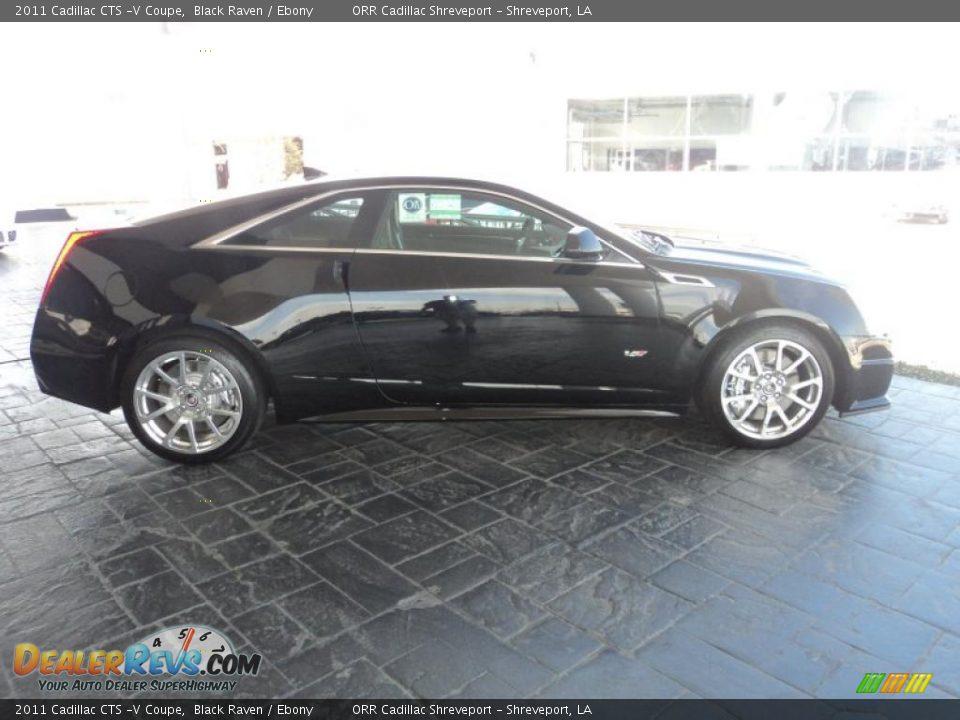 Used Cadillac Cts Coupe >> 2011 Cadillac CTS -V Coupe Black Raven / Ebony Photo #4   DealerRevs.com