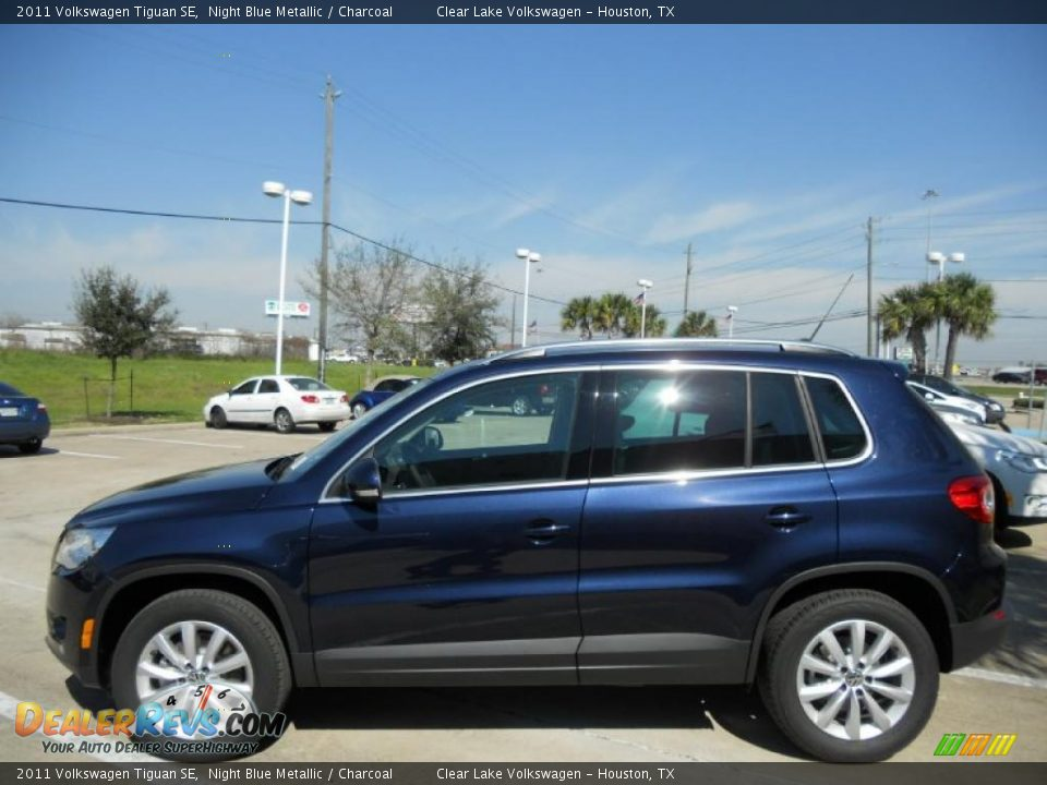 night blue metallic 2011 volkswagen tiguan se photo 4. Black Bedroom Furniture Sets. Home Design Ideas