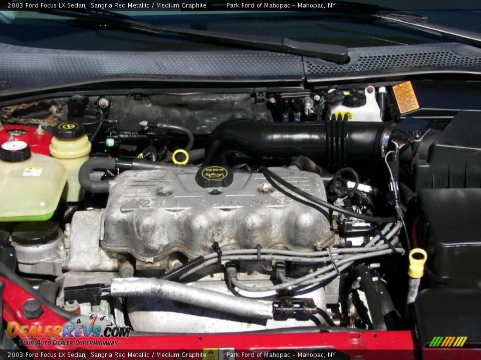 2003 Ford Focus Lx Sedan 2 0 Liter Sohc 8