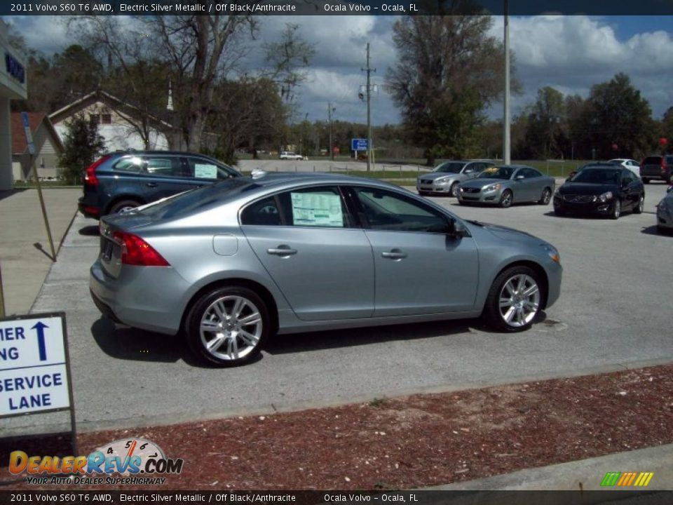 Electric Silver Metallic 2011 Volvo S60 T6 Awd Photo 8