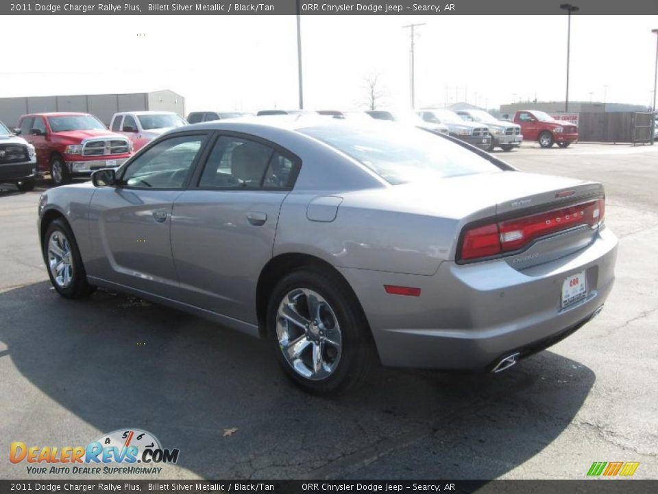 Billett Silver Metallic 2011 Dodge Charger Rallye Plus