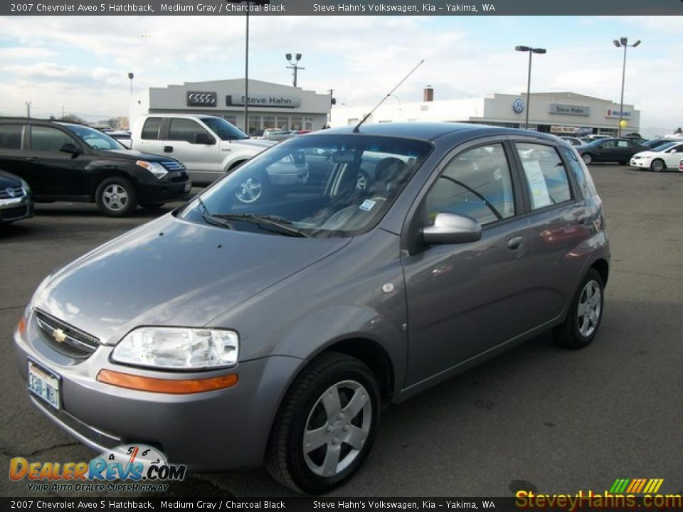 2007 chevrolet aveo 5 hatchback medium gray charcoal. Black Bedroom Furniture Sets. Home Design Ideas