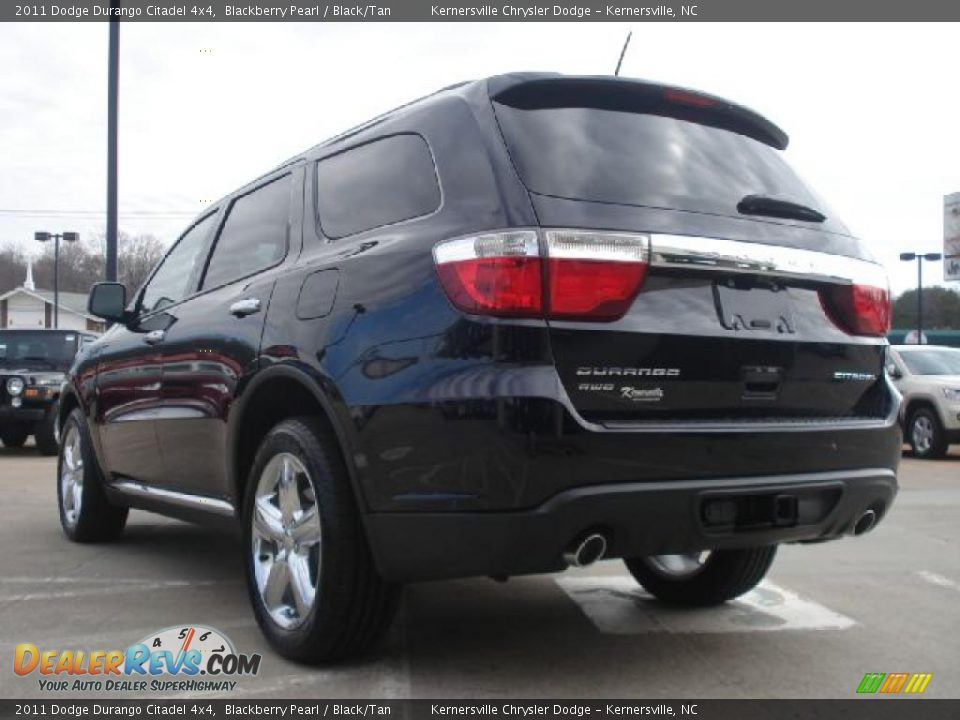 2011 Dodge Durango Citadel 4x4 Blackberry Pearl Black