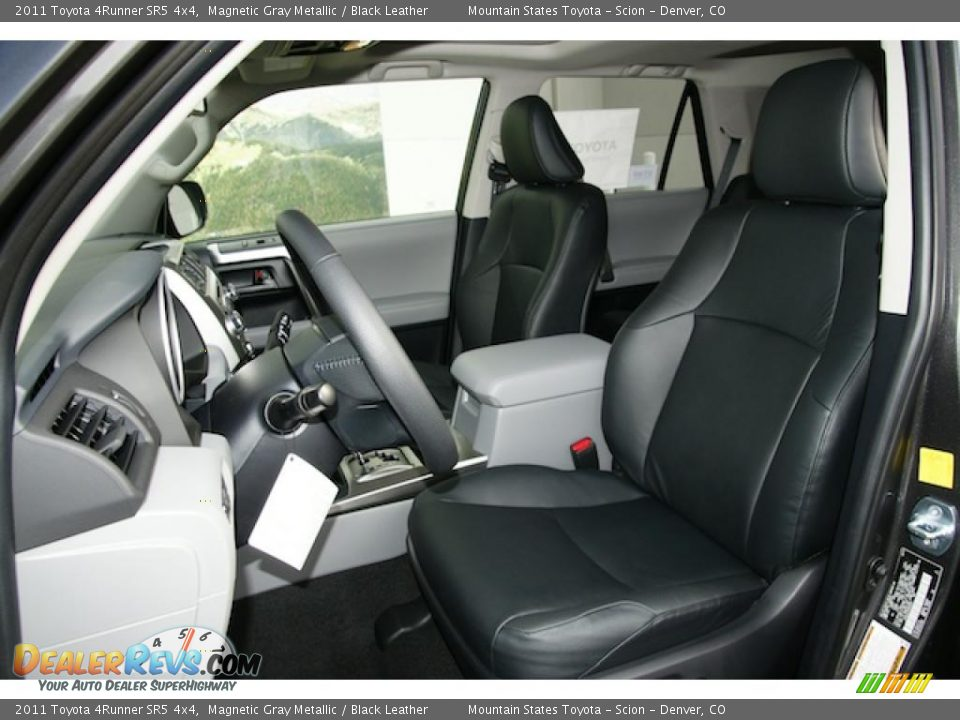 Black Leather Interior 2011 Toyota 4runner Sr5 4x4 Photo