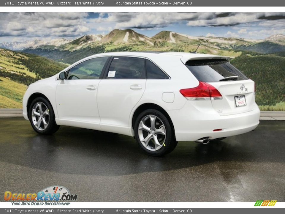 Blizzard Pearl White 2011 Toyota Venza V6 AWD Photo #3 | DealerRevs ...